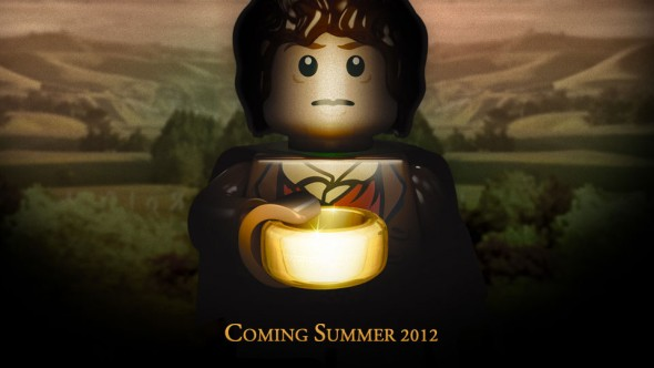 Lego Lord of the Rings promo art